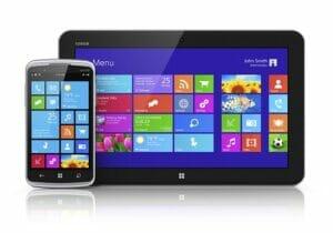 Tablet mit Windows 8